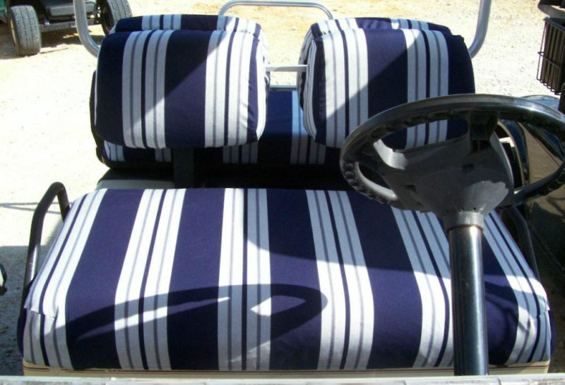 Club Car Golf Cart Seat Cover Slip Over Original Covers Cq Sewing